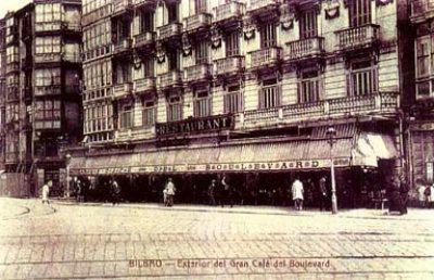 exterior café boulevard bilbao