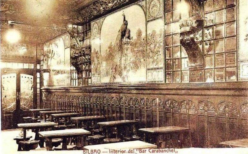 interior bar carabanchel bilbao