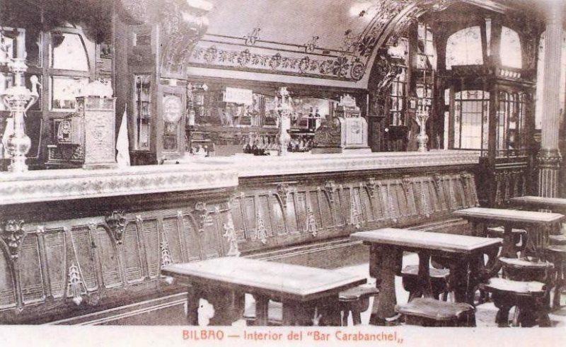 interior bar caranbanchel bilbao