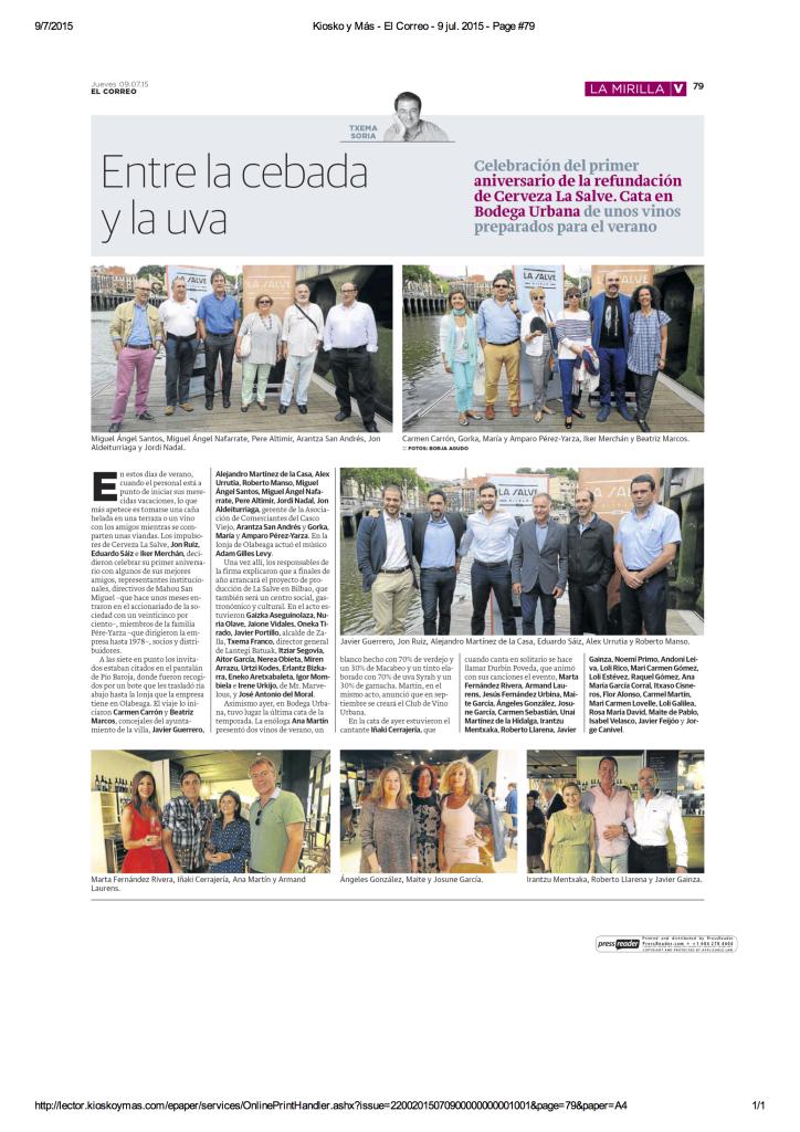 20150907_elcorreo - LA SALVE Bilbao